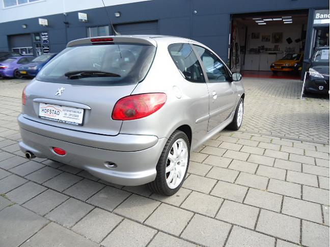 Te koop Peugeot 206 2.0-16V GTI Grijs occasion - Autobedrijf Den Haag